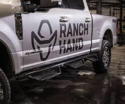 "Drop Steps - Ranch Hand Drop Steps - Ranch Hand - Ranch Hand Running Step 3""  Round -6 Step-Crew Cab Pickup- (RSF09HC6B6)"