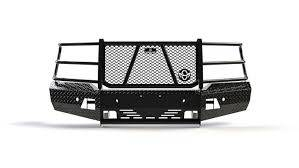 Ranch Hand Front Bumpers - Ranch Hand Summit Front Bumper - Ranch Hand - Ranch Hand  Summit Front Bumper  2019+  Silverado  1500    (FSC19HBL1)
