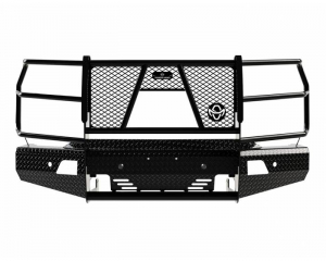 Ranch Hand Summit Front Bumper  w/Sensors & Camera Cutout - 2020+ Silverado HD  (FSC201BL1C)