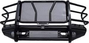 Front - Roughneck Front Bumpers - Roughneck - Roughneck    Front Bumper   w/  Receiver Tube  2007-2010 Silverado HD (BFERC08HDR)