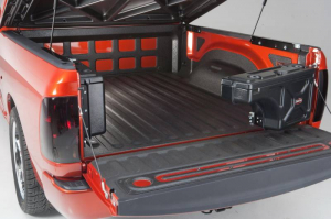 Tool Boxes - Undercover Misc. Utility - Undercover - Undercover Swing Case Passenger Side 04-14 Titan / 04-20 Frontier (SC500P)