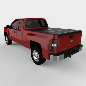 Bed Covers - Undercover Hard Folding Bed Covers - Undercover - Undercover Flex 2007-2013 Silverado/Sierra  1500/2500 6.5' Bed  (FX11009)