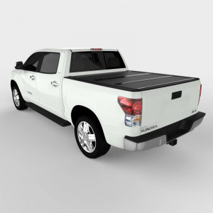 Bed Covers - Undercover Hard Folding Bed Covers - Undercover - Undercover Flex 2007-2020  Tundra  5.5' Bed  (FX41007)