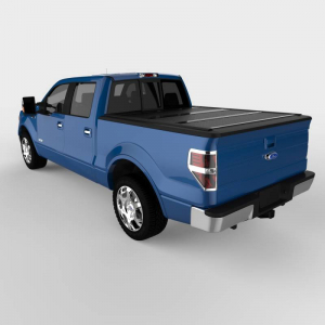 Bed Covers - Undercover Hard Folding Bed Covers - Undercover - Undercover Flex 2004-2014  F150 CrewCab  5.5' Bed (FX21002)