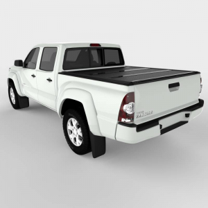 Bed Covers - Undercover Hard Folding Bed Covers - Undercover - Undercover Flex 2005-2015 Tacoma  5' Bed (FX41002)