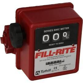 Tanks / Pumps - Accessories - FillRite - FillRite 3-wheel mechanical fuel transfer meter  5-20 GPM      (807C)