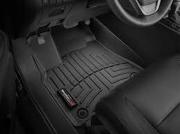 Interior Accessories - Weathertech Floor Mats - Weathertech - WeatherTech Front FloorLiner DigitalFit Black (4410121)