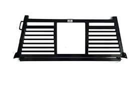 Headache Racks - Roughneck 2 Piece Bolt-on Racks - Roughneck - Roughneck    Bolt On Head -  Split Louver  (BHRSL-GM19B)