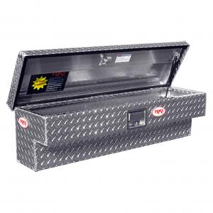 "Tool Boxes - RKI Tool Boxes - RKI - RKI   43""   Aluminum  Side  Box  Black  (43SAB)"