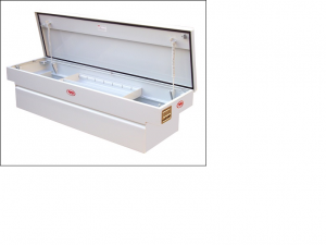 RKI - RKI    Steel   Cross Box   Single Lid   White   (C63)
