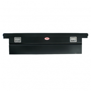 RKI - RKI    Steel   Cross Box   Single Lid   Low Profile   Black (C63LPB)