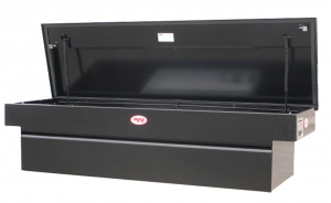 RKI - RKI    Steel   Cross Box   Single Lid   Black    (C63B)