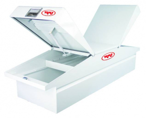 RKI - RKI    Steel   Cross Box   Double Lid   White    (ST63)