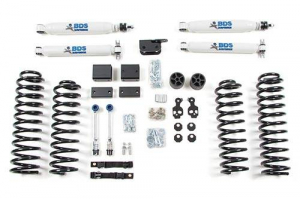 "Suspension - BDS - BDS - BDS  3"" LIFT KIT  2007-2011 JEEP JK  4DR  (1411H)"