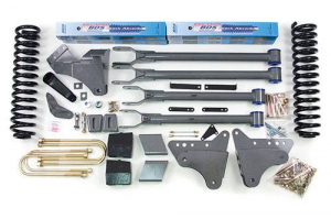 "Suspension - BDS - BDS - BDS  4""  4-LINK LIFT KIT  2005-2007  F250 / F350  4WD  (345H)"