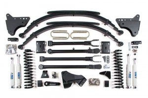 "Suspension - BDS - BDS - BDS  4""  4-LINK LIFT KIT  2011-2016  F250 / F350  4WD  (590H)"