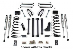"""BDS - BDS  4"""" LIFT KIT  2009-2013 RAM 2500 POWER WAGON  4WD  (616H)"""