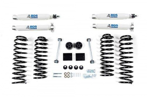 "Suspension - BDS - BDS - BDS  2"" LEVEL KIT  2007-2011  JEEP JK  4DR  (1402H)"