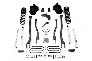 "Suspension - BDS - BDS - BDS  4""  4-LINK LIFT KIT  2013-2018  RAM 3500  W/OUT  REAR AIR RIDE  4WD  DIESEL  (697H)"