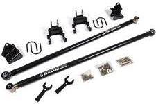 Suspension - Recoil Traction Bars - BDS - BDS RECOIL Traction Bar System w/ Mount Kit 2011-2016 F250/F350 SRW  Long Box (123418) & (123409)