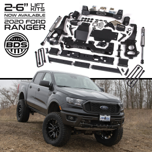 "Suspension - BDS - BDS - BDS  3.5"" Coilover Lift Kit   2019+  Ranger  (1545FSL)"