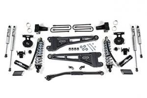 "Suspension - BDS - BDS - BDS  2.5"" Radius Arm Coilover Kit  w/ FOX Shocks  2020+  F250/F350  (Diesel)  (1549F)"