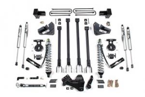 "BDS - BDS  4"" 4-Link Coilover Kit  w/ FOX Shocks   2020+   F250/F350   4WD  (Diesel) w/ Rear Block   (1567F) - Image 2"