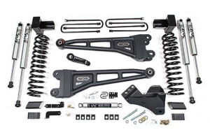 "BDS - BDS  4"" Radius Arm Coilover Kit w/ FOX Shocks    2020+  F250/F350  Diesel  4WD  (1551F) - Image 1"