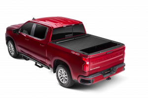Bed Covers - Roll-N-Lock Manual Bed Covers - Roll-N-Lock - Roll-N-Lock  A-Series Aluminum Retractable Bed Cover  2019+   Silverado/Sierra 1500  6.5' Bed  (BT224A)