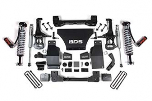 "BDS - BDS  6"" Coil Over Lift Kit  w/FOX 2.0 Shocks  2019+ Silverado/Sierra  1500  4WD  (746F) - Image 2"