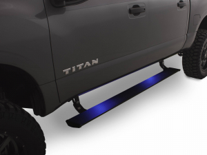 Steps - AMP Electric Steps - AMP - AMP  Powerstep   2004-2015  Titan   Ext. Cab/King Cab/Crew Cab   (75110-01A)