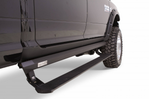 Steps - AMP Electric Steps - AMP - AMP  Powerstep XL   2009-2012 Ram 1500 &  2010-2017  HD  Crew Cab  (77158-01A)