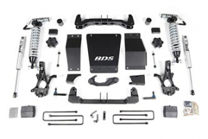"BDS - 6""  Coil Over Lift Kit  w/ FOX Shocks  2014-2019Classic  Silverado/Sierra 1500  4WD  (710F)"