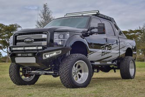 "BDS - BDS  8"" Coil Over  4-Link Lift Kit  w/ FOX Shocks   2011-2016  F250/F350   (1500F) - Image 3"