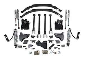 """BDS - BDS  6"""" Coil Over  4-Link Lift Kit  w/ FOX Shocks   2011-2016  F250/F350   (596F) - Image 2"""