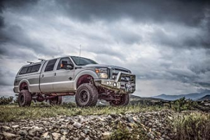 """BDS - BDS  6"""" Coil Over  4-Link Lift Kit  w/ FOX Shocks   2011-2016  F250/F350   (596F) - Image 3"""