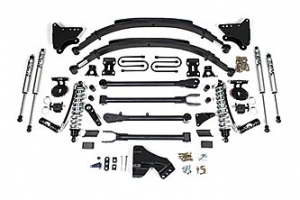 """BDS - BDS  4""""  Coil Over  4-Link Conversion Kit  w/ FOX Shocks   2011-2016  F250/F350  DIESEL  (590F) - Image 1"""