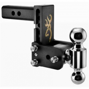 """Towing - B&W - B & W   Tow & Stow  8"""" Model  Dual Ball  5"""" Drop / 5.5"""" Rise   Browning Edition (TS10037BB)"""