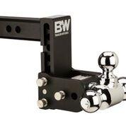 "Towing - B&W - B&W   Tow & Stow    8"" Model    Tri Ball  5"" Drop / 5.5"" Rise   Black   (TS10048B)"