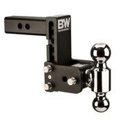 "Towing - B&W - B&W   Tow & Stow   Dual Ball   2"" Hitch  5"" Drop / 5.5"" Rise   Black  (TS10037B)"