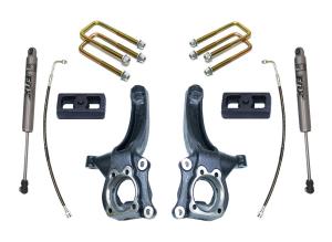 """MAXTRAC - MAXTRAC   2wd Lift Kit w/ Fox Shocks - 4""""/2"""" Lift Height 2007-2020 Tundra (MAXT-K880442F)"""