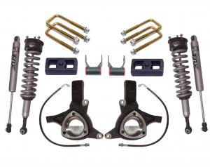 """MAXTRAC - MAXTRAC   2wd Lift Kit w/ Fox Shocks - 7""""/4"""" Lift Height   (MAXT-K881774F)"""