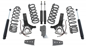 """MAXTRAC - MAXTRAC   2wd Lift Kit w/ 4.7 V8 Coils & Max Trac Shocks - 7""""/4.5"""" Lift Height 2009-2018 RAM 1500 (MAXT-K882470)"""