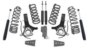 """MAXTRAC - MAXTRAC   2wd Lift Kit w/ 5.7 Hemi V8 Coils & Max Trac Shocks - 7""""/4.5"""" Lift Height 2002-2016 RAM 1500 (MAXT-K882471)"""
