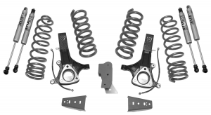 """MAXTRAC - MAXTRAC   2wd Lift Kit w/ 5.7 Hemi V8 Coils & Fox Shocks - 7""""/4.5"""" Lift Height 2002-2018 RAM 1500 (MAXT-K882471F)"""