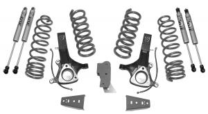 """MAXTRAC - MAXTRAC   2wd Lift Kit w/ Eco Diesel Coils & Fox Shocks - 6.5""""/4.5"""" Lift Height 2002-2018 RAM 1500 (MAXT-K882464F)"""