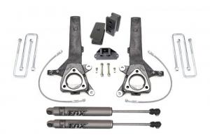 """MAXTRAC - MAXTRAC   2wd Lift Kit w/ Fox Shocks - 4""""/2"""" Lift Height 2004-2019 Titan (MAXT-K885342F)"""