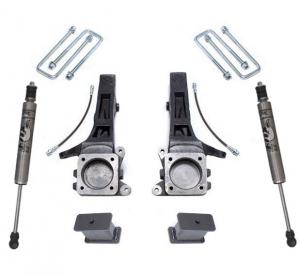 """MAXTRAC - MAXTRAC   2wd Lift Kit w/ Fox Shocks - 4""""/2"""" Lift Height 2005-2020 Tacoma (MAXT-K886842F)"""