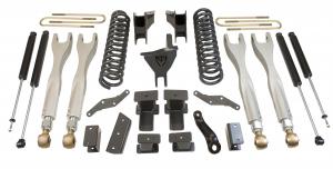 """MAXTRAC - MAXTRAC   4wd Lift Kit w/ 4 Links & Max Trac Shocks - 4""""/1"""" Lift Height 2017-2020 F250/F350 (MAXT-K943341L)"""