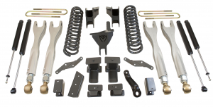 """MAXTRAC - MAXTRAC   4wd Lift Kit w/ 4 Links & Max Trac Shocks - 6""""/2"""" Lift Height 2017-2020 F250/F350 (MAXT-K943362L)"""
